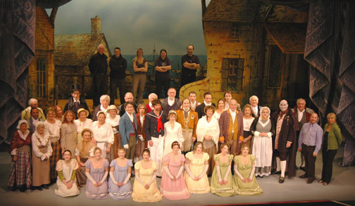 Guilbert and Sullivan Ruddigore performed by Lakeshore Light Opera in 2008